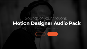 Motion designer audio Pack by OnLockOut